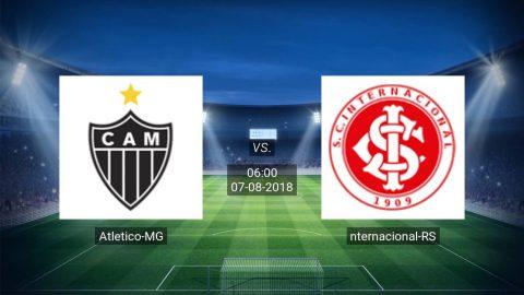 Nhận định Atletico Mineiro vs Internacional, 06h00 ngày 07/8: VĐQG Brazil