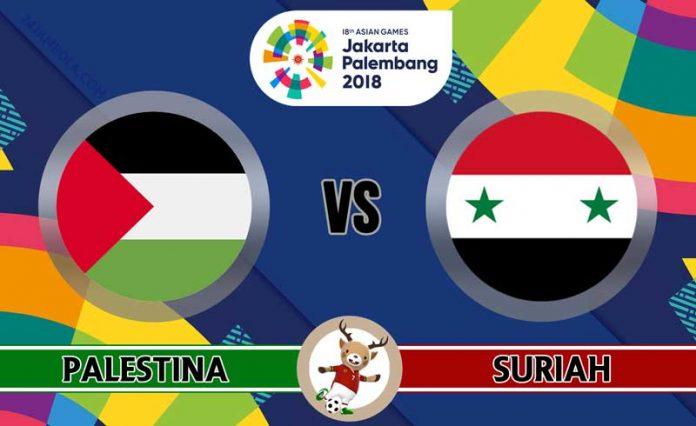 Nhận định U23 Palestine vs U23 Syria, 16h00 ngày 23/8: ASIAD 2018