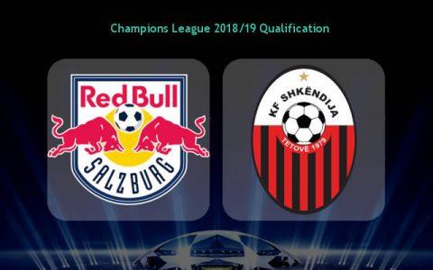 Nhận định RB Salzburg vs Shkendija, 00h00 ngày 9/8: Champions League