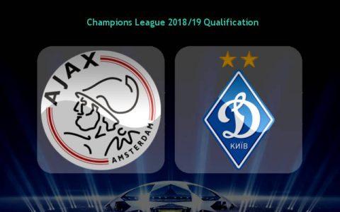 Nhận định Ajax vs Dynamo Kiev, 02h00 ngày 23/8: Champions League