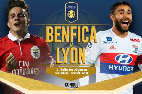 Nhận định trận đấu Benfica vs Lyon, 3h00 ngày 2/8: ICC 2018