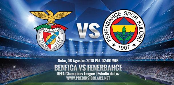 Nhận định Benfica vs Fenerbahce, 02h00 ngày 08/8: Champions League