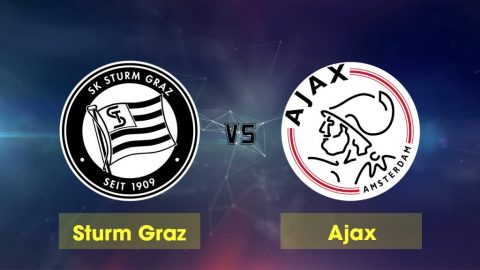 Nhận định Sturm Graz vs Ajax, 01h30 ngày 02/8: UEFA Champions League