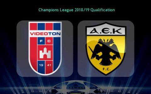 Nhận định MOL Vidi vs AEK Athens, 02h00 ngày 23/8: Champions League