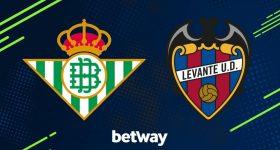 Nhận định Betis vs Levante, 03h15 ngày 18/08: VĐQG Tây Ban Nha