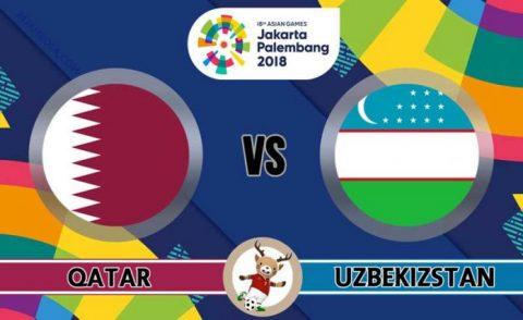 Nhận định U23 Qatar vs U23 Uzbekistan, 19h00 ngày 16/8: ASIAD 2018