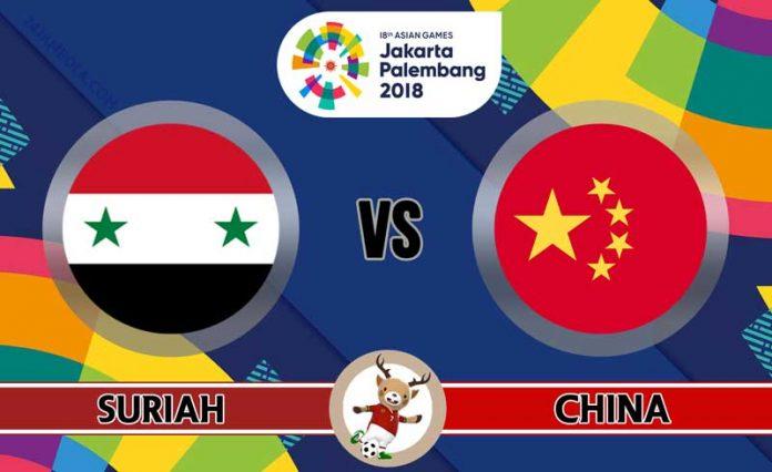 Nhận định U23 Syria vs U23 Trung Quốc, 19h00 ngày 16/08: ASIAD 2018