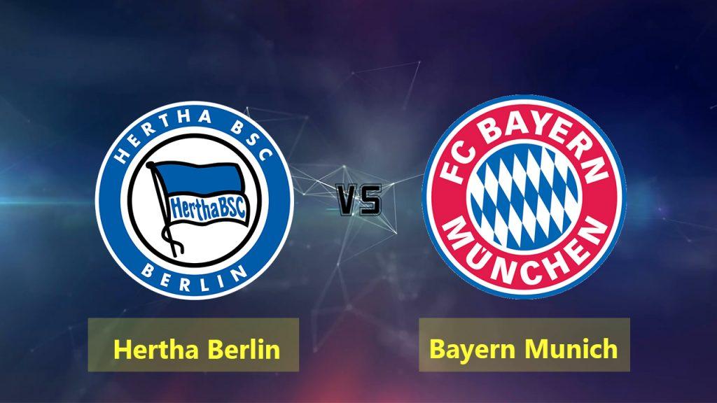 Nhận định Hertha Berlin vs Bayern Munich, 01h30 ngày 29/9: VĐQG Đức