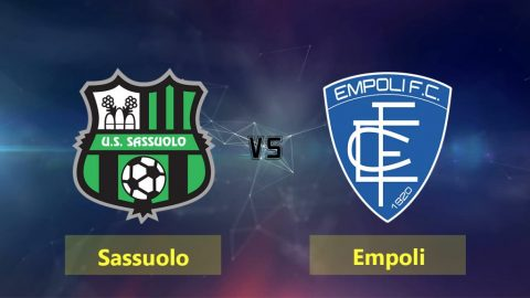 Nhận định Sassuolo vs Empoli, 01h30 ngày 22/9: VĐQG Italia