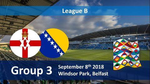 Nhận định Bắc Ireland vs Bosnia, 20h00 ngày 08/09: UEFA Nations League