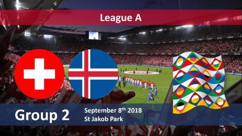 Nhận định Thụy Sỹ vs Iceland, 23h00 ngày 8/9: UEFA Nations League