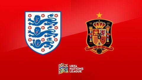 Nhận định Anh vs Tây Ban Nha, 01h45 ngày 09/9: UEFA Nations League
