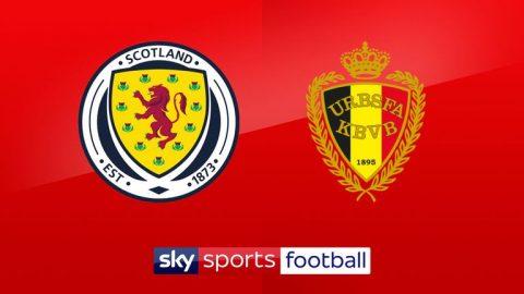 Nhận định Scotland vs Bỉ, 01h45 ngày 8/9: Giao hữu quốc tế