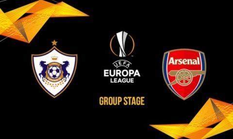 Nhận định Qarabag vs Arsenal, 23h55 ngày 4/10: Europa League