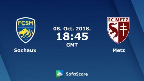 Nhận định Sochaux vs Metz, 01h45 ngày 09/10: Hạng 2 Pháp
