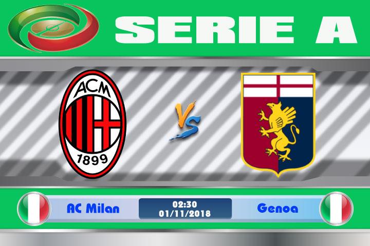 Nhận định AC Milan vs Genoa, 02h30 ngày 01/11: Trận đấu khó khăn
