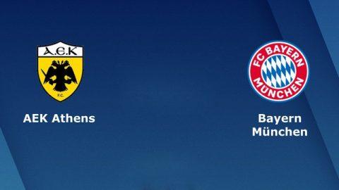 Nhận định AEK Athens vs Bayern Munich, 23h55 ngày 23/10: Hùm xám gầm vang