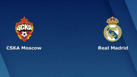 Nhận định CSKA Moscow vs Real Madrid, 02h00 ngày 3/10: Champions League