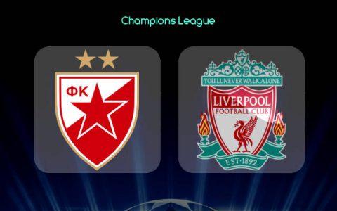 Nhận định Crvena Zvezda vs Liverpool, 00h55 ngày 07/11: Khó thắng lớn