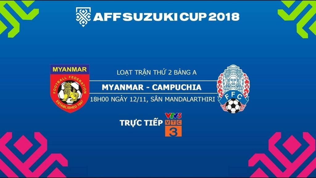 Nhận định Myanmar vs Campuchia, 18h30 ngày 12/11: Tìm kiếm chiến thắng