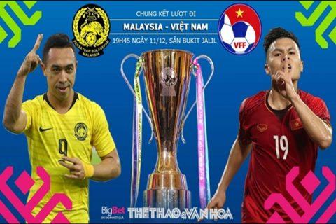 Nhận định Malaysia vs Việt Nam, 19h45 ngày 11/12 – AFF Cup 2018