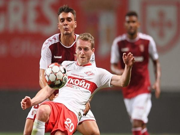 Sporting Braga vs Spartak Moscow