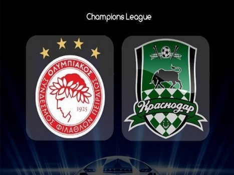Soi kèo Olympiacos vs Krasnodar 2h00, 22/08 (Champions League)