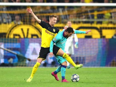 Dortmund – Barcelona: Messi vất vả