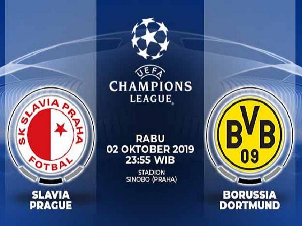 Tin Mibet: Nhận định kèo Slavia Praha vs Dortmund 23h55, 2/10 (Champions League)