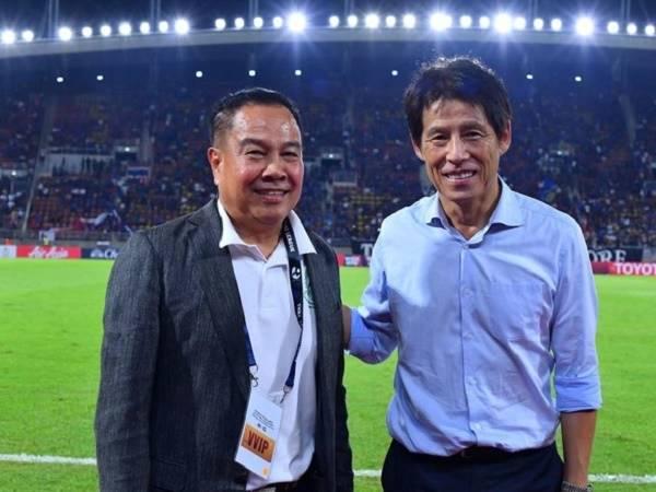 HLV Thái Lan không hài lòng về mọi thứ ở SEA Games
