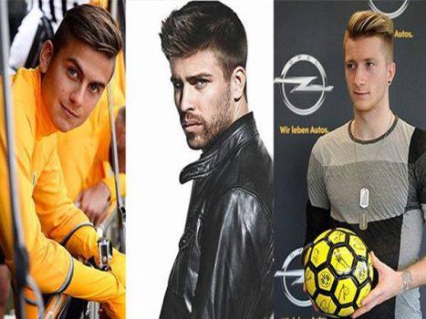 Top 10 cầu thủ đẹp trai nhất thế giới hiện tại