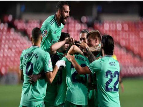 Bóng đá sáng 14/7: Real tạo kỷ lục trong ngày chạm tay đến chức vô địch
