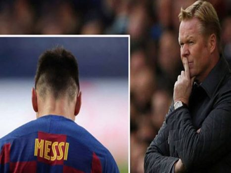 Bóng đá TBN 24-8: Koeman đáp trả Messi