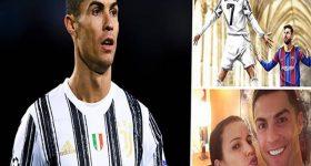 Bóng đá QT 11/12: Chị gái Ronaldo đăng hình Messi quỳ gối trước CR7