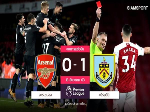 Bóng đá quốc tế 14/12: Arsenal lập kỉ lục buồn khi thua Burnley