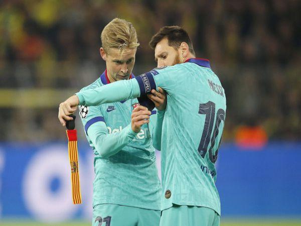 Bóng đá Anh 1/6: De Jong hy vọng Messi ở lại Barcelona